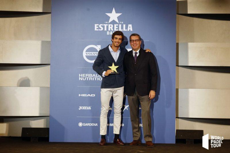 Gala World Padel Tour - Juan Lebrón jugador revelación