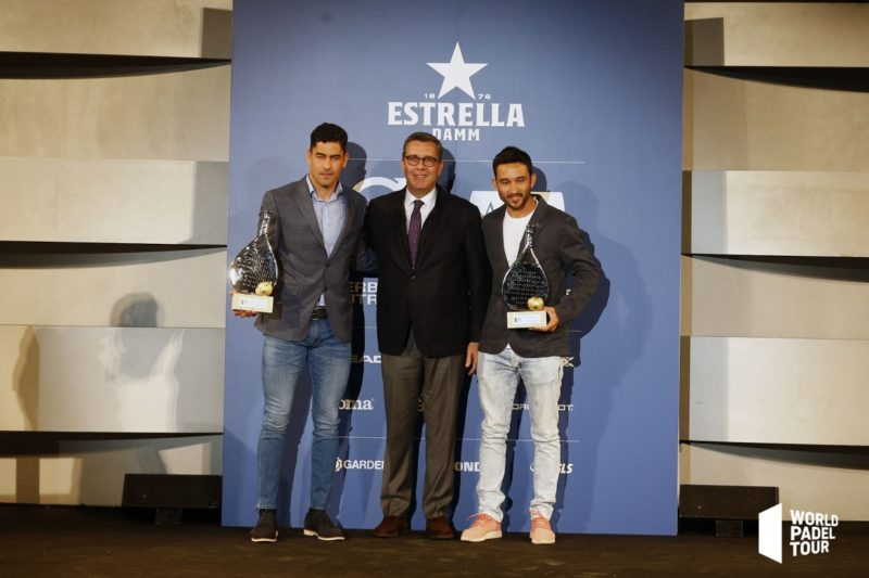 Gala World Padel Tour - Maxi Sánchez y Sanyo Gutiérrez mejor pareja masculina 2018