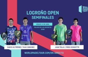 En directo las semifinales del turno de tarde del World Padel Tour Logroño Open 2019