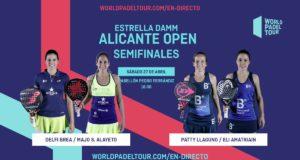 En directo las semifinales de tarde del Estrella Damm Alicante Open 2019