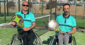 Javier Hurtado y Carlos Vizcaíno completan el equipo StarVie de pádel adaptado