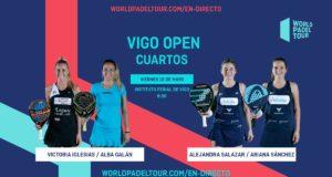 Streaming de los cuartos de final femeninos del World Padel Tour Vigo Open 2019
