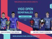 En directo las semifinales del turno de tarde del World Padel Tour Vigo Open 2019