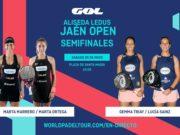 En directo las semifinales del turno de mañana del Alisea Ledus Jaén Open 2019