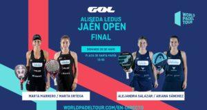 En directo las finales del Alisea Ledus Jaén Open 2019
