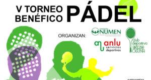 Ya está aquí el V Torneo Benéfico de Pádel Fundación NUMEN