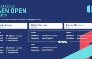Horarios del streaming del Alisea Ledus Jaén Open 2019