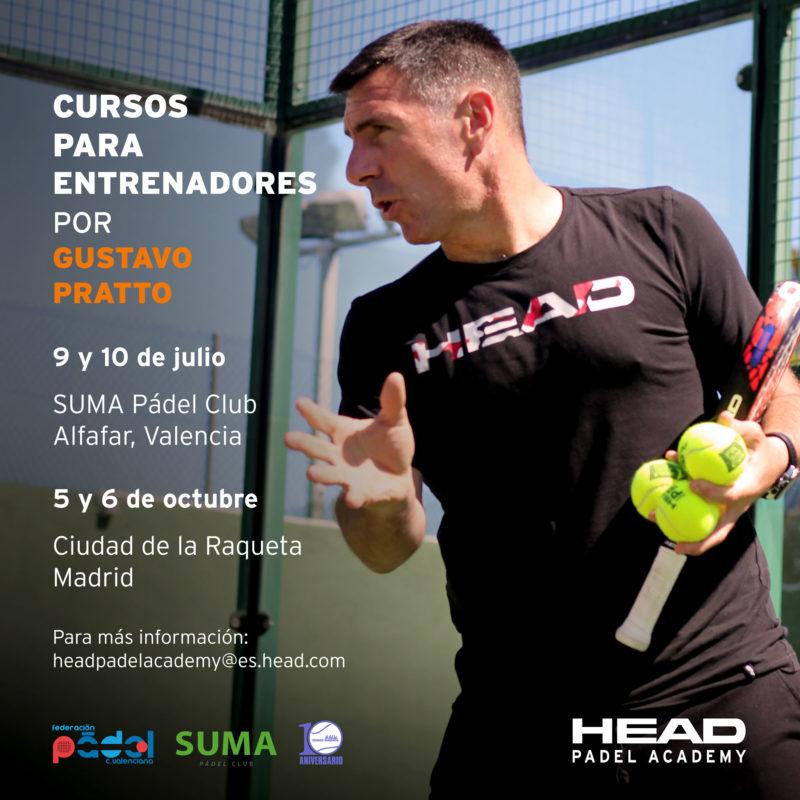 Nuevas citas de la HEAD Padel Academy en Valencia y Madrid