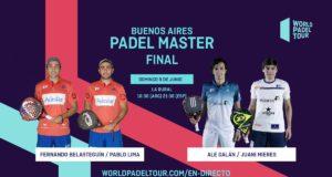 En directo la final del Buenos Aires Padel Master 2019