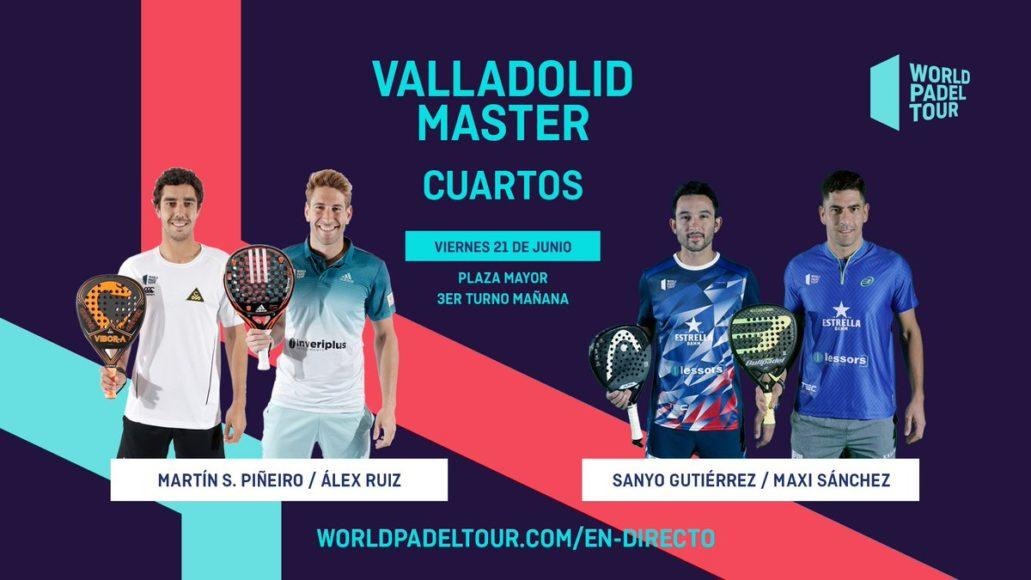 En Directo Los Cuartos De Final Masculinos Del World Padel Tour Valladolid Master 2019