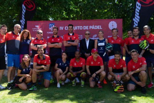 Vuelve el Circuito de Pádel Fundación Atlético de Madrid con un llamamiento a la solidaridad