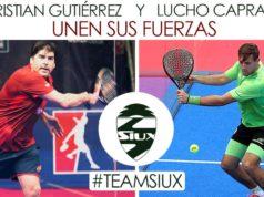 Cristian Gutiérrez y Lucho Capra jugarán juntos a partir del Open de Valencia