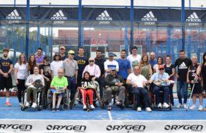 El Grupo Padel Nuestro cede las instalaciones de uno de sus clubes a ASPAYM Murcia todos los viernes