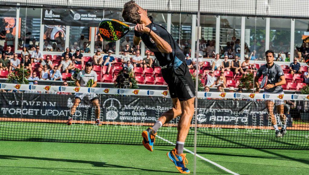 Por la puerta grande a la final del Euro Finans Swedish Padel Open 2019