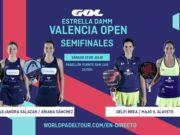 En directo las semifinales de la jornada matinal del Estrella Damm Valencia Open 2019
