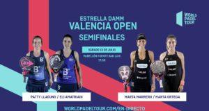 En directo las semifinales de la jornada de tarde del Estrella Damm Valencia Open 2019