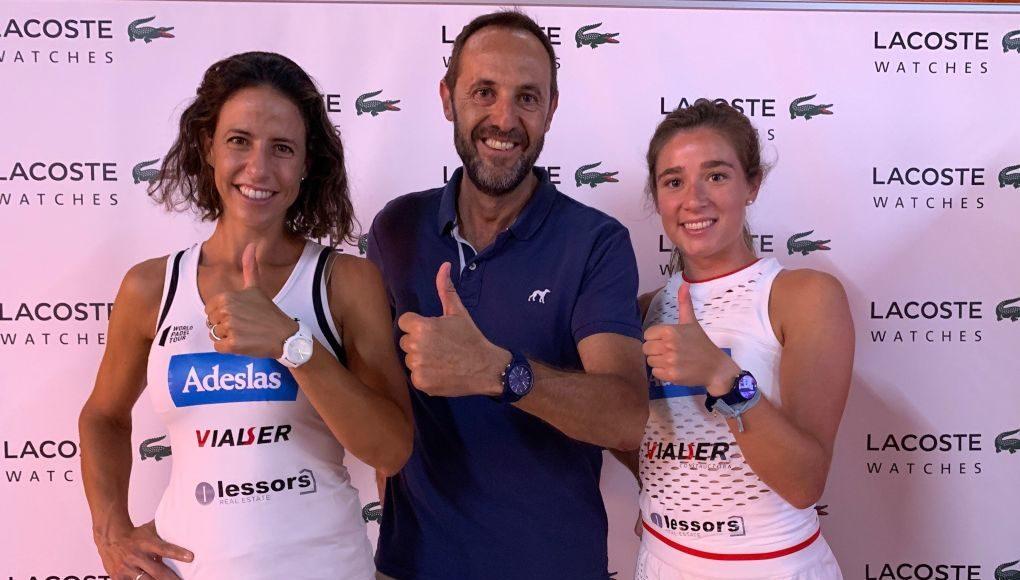 Marta Marrero y Marta Ortega, pareja nº1 de World Padel Tour y embajadoras de Lacoste Watches