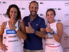 Marta Marrero y Marta Ortega, pareja nº1 de World Padel Tour y embajadoras de Lacoste Watches