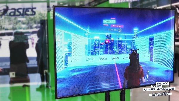 """ASICS lanza su nuevo juego de realidad virtual """"Play the unplayable experience"""""""