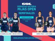 En directo las semifinales de la jornada matinal del Cervezas Victoria Mijas Open 2019