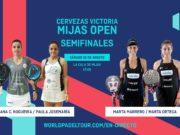 En directo la jornada de tarde de las semifinales del Cervezas Victoria Mijas Open 2019
