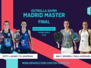 En directo las finales del Estrella Damm Madrid Master 2019