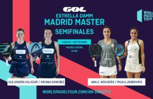 En directo las semifinales de la jornada matinal del Estrella Damm Madrid Master 2019