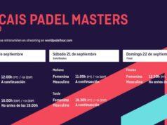 Horarios del streaming del Cascais Padel Masters