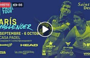 En directo el París Challenger 2019