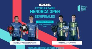 En directo las semifinales de la jornada matinal del Estrella Damm Menorca Open 2019