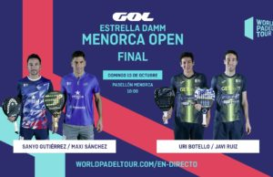 En directo las finales del Estrella Damm Menorca Open 2019
