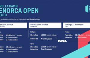 Horarios del streaming del Estrella Damm Menorca Open 2019