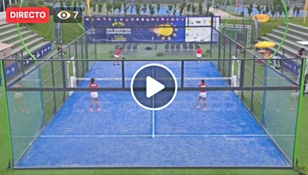 En directo la final femenina por parejas del European Championships