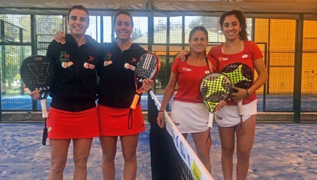 España hace pleno en las semifinales por parejas del European Championships