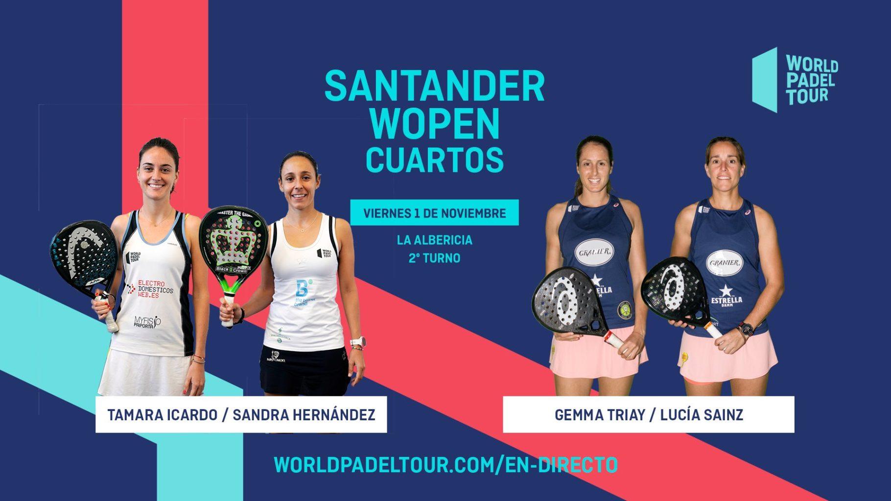 cuartos de final del Santander WOpen 2019