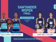 Sigue en directo la final del Santander WOpen