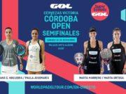 En directo las semifinales de la jornada matinal del Cervezas Victoria Córdoba Open 2019
