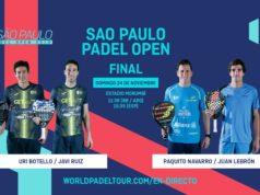 En directo la final del Sao Paulo Open