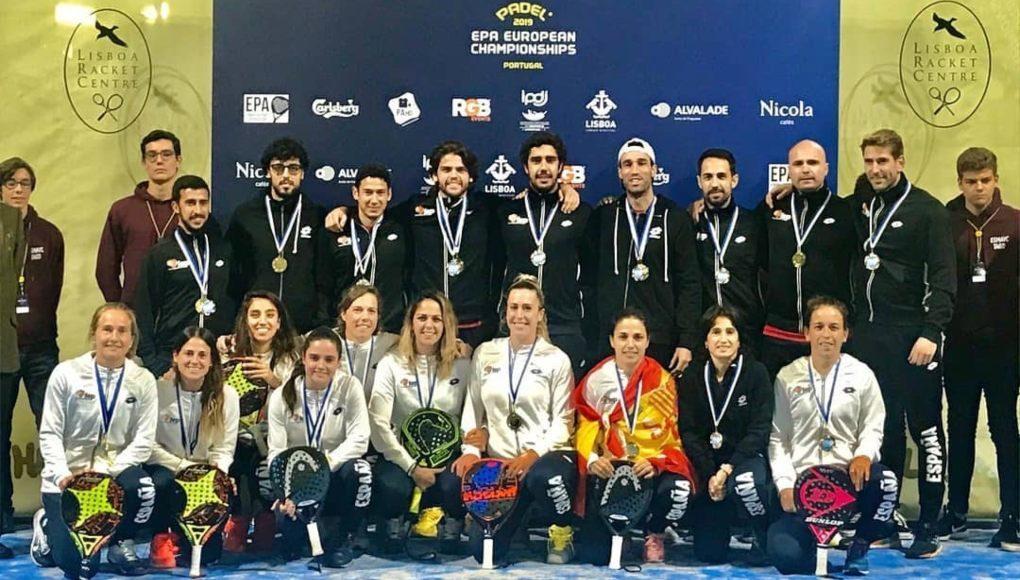España hace doblete en el Eurpean Championships por equipos