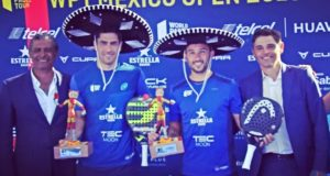 Sanyo Gutiérrez y Maxi Sánchez son los primeros campeones del México Open