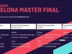 Horarios del streaming del Estrella Damm Barcelona Master Final 2019