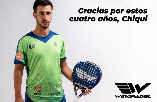 Wingpadel y Álvaro Cepero ponen fin a una relación de cuatro años