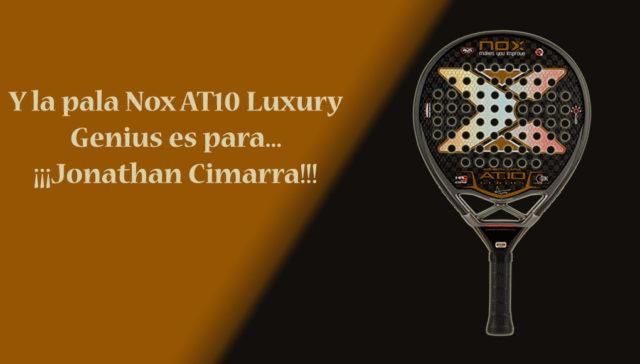 Y el ganador de la pala Nox AT10 Luxury Genius es…