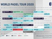 Calendario del circuito World Padel Tour 2020
