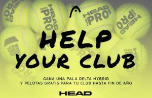 Help Your Club, la iniciativa de Head Padel para ayudar a clubes y jugadores en la vuelta a las pistas