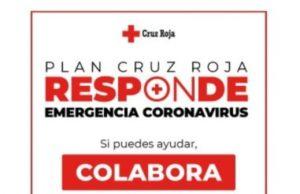 """""""Juntos contra el coronavirus"""" de la mano de la Cruz Roja"""