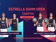 En directo los cuartos de final femeninos del Estrella Damm Open 2020