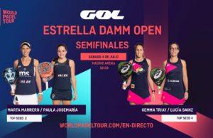 En directo las semifinales del turno de mañana del Estrella Damm Open