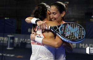 Mapi y Majo Sánchez Alayeto vuelven a la senda del triunfo en el ADESLAS Open
