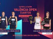 En directo los cuartos de final femeninos del Estrella Damm Valencia Open 2020